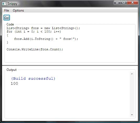 C# Snippy Screenshot